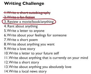 writing challenge-3